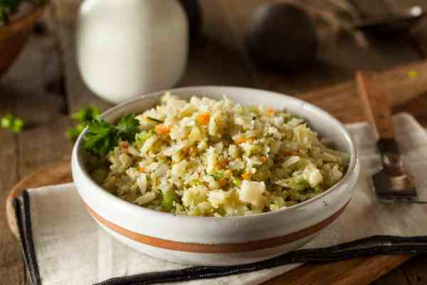 Low Carb Cauliflower Fried Rice