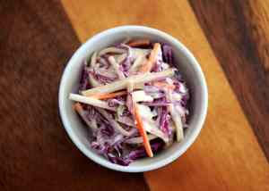 Ketogenic Blue Cheese Coleslaw