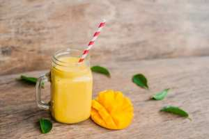 Mango Avocado Keto Smoothie