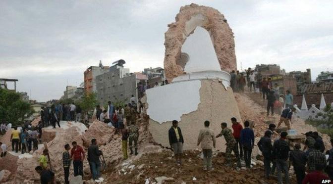 Habría argentinos en el terremoto de Nepal