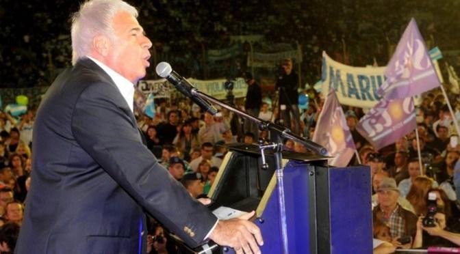 De la Sota lanzó su precandidatura presidencial