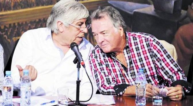 """Moyano también se sumó al """"paro nacional"""""""