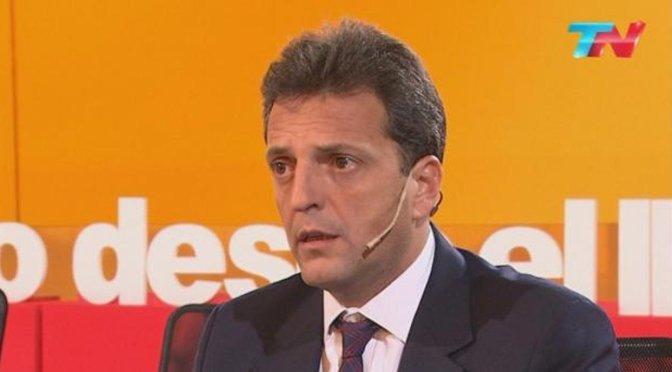 Sergio Massa se posiciona nuevamente a la cabeza de la oposición política