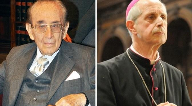 Apoyo del Papa a Fayt a través de una carta del arzobispo Poli