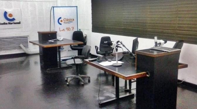 Trabajadores de Radio Nacional dan continuidad al plan de lucha