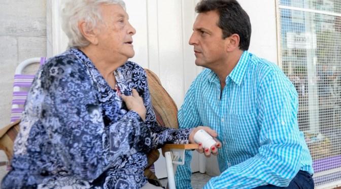 """SERGIO MASSA: """"EL GOBIERNO PREFIERE A LOS PRESOS, NOSOTROS A LOS JUBILADOS"""""""
