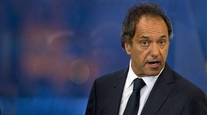 Scioli presentó su declaración jurada
