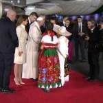 El Papa Francisco llegó a México