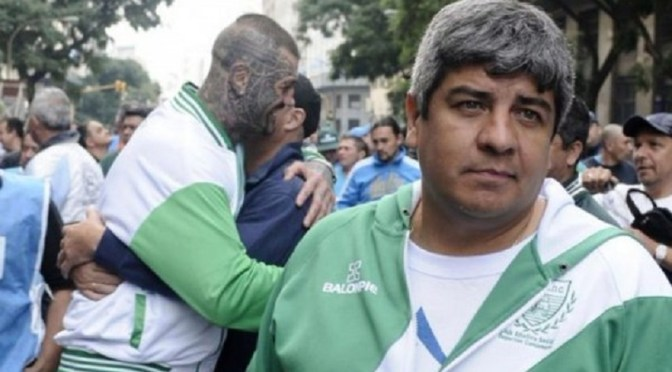 """Camioneros van al paro: """"No va a entrar un peso en el Banco Central"""""""