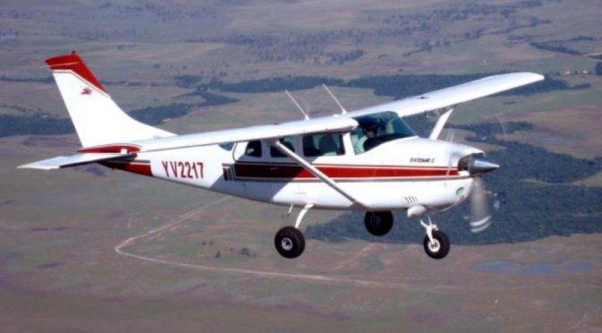 General Rodríguez: Chocaron dos avionetas