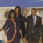 Obama llegó a Argentina