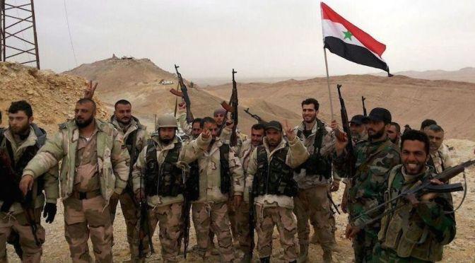 Siria derrota al Estado Islámico y retoma el control de Palmira