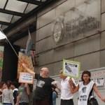 Multitudinaria protesta de ATE en el Ministerio de Trabajo