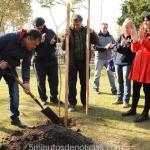Moreno: Walter Festa apuesta a la vida y lanzó el programa de arbolado urbano