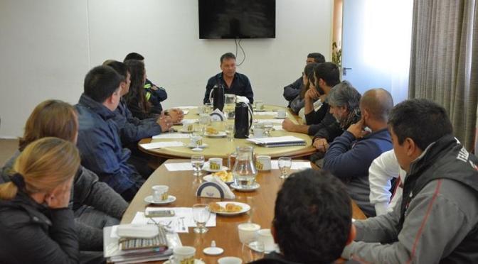 Moreno: el Intendente Walter Festa se reunió con representantes de distintos sectores gremiales