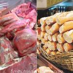 El kilo de PAN subirá a 40 pesos y la CARNE se vende de a 100 gramos