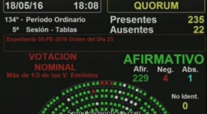 Diputados dio media sanción al Proyecto de Ley de Acceso a la Información Pública