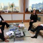 La Gobernadora Vidal recibió al Intendente de Moreno Walter Festa