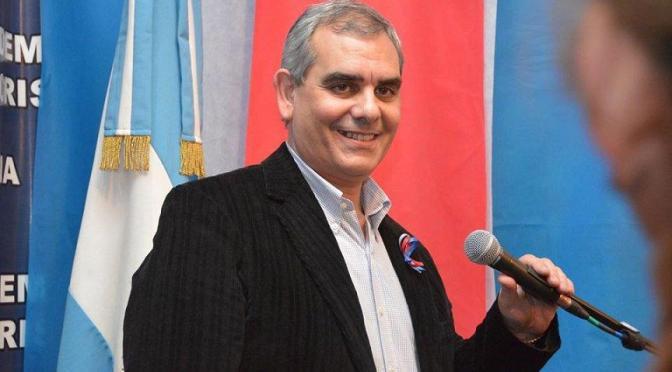 Carlos Traboulsi asumió la presidencia de la Democracia Cristiana porteña