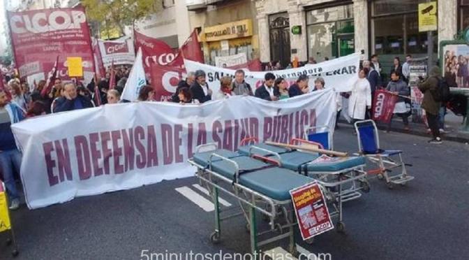 NUEVO PARO DE MÉDICOS BONAERENSES