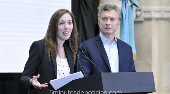 EL PRESIDENTE MACRI REUNIDO CON VIDAL Y PATRICIA BULLRICH