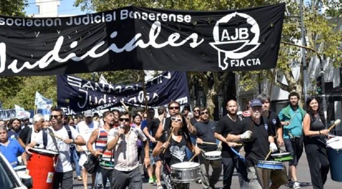 LOS JUDICIALES BONAERENSES PARAN MIÉRCOLES 23 Y JUEVES 24 DE NOVIEMBRE