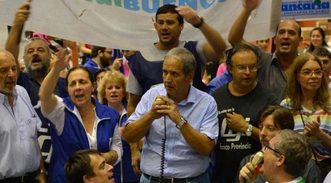 """SERGIO PALAZZO: """"ADEMÁS DE SINVERGÜENZA SON APRETADORES"""""""