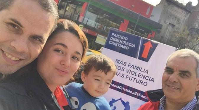 LA DEMOCRACIA CRISTIANA PORTEÑA GANANDO LA CALLE