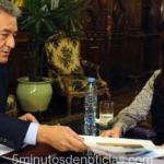 LA EX PRESIDENTE CRISTINA KIRCHNER RECIBIÓ AL GOBERNADOR ALBERTO RODRÍGUEZ SAÁ