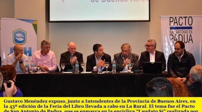 DISERTACIÓN EN EL CIERRE DE LA FERIA DEL LIBRO