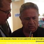 EDUARDO DUHALDE PIDIO NUEVAMENTE INTERNAS EN EL PJ