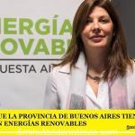 ASEGURAN QUE LA PROVINCIA DE BUENOS AIRES TIENE UNA GRAN POTENCIAL EN ENERGÍAS RENOVABLES