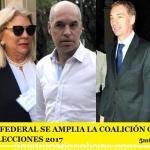 EN CAPITAL FEDERAL SE AMPLIA LA COALICIÓN OFICIALISTA PARA LAS ELECCIONES 2017