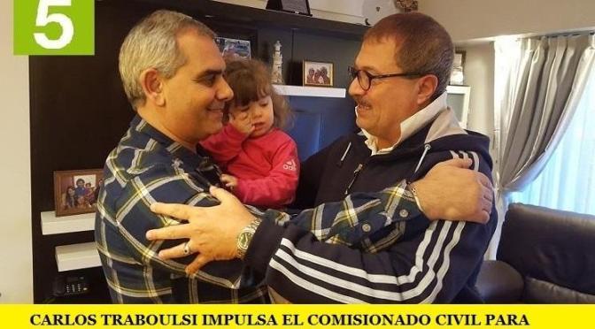 CARLOS TRABOULSI IMPULSA EL COMISIONADO CIVIL PARA CONTROLAR LA POLICÍA PORTEÑA