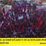 MARIO ISHII ACOMPAÑADO Y OVACIONADO POR MÁS DE 70.000 PERSONAS