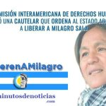 LA COMISIÓN INTERAMERICANA DE DERECHOS HUMANOS ORDENA AL ESTADO ARGENTINO LIBERAR A MILAGRO SALA