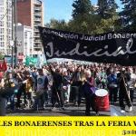 LOS JUDICIALES BONAERENSES TRAS LA FERIA VAN AL PARO