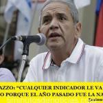 """SERGIO PALAZZO: """"CUALQUIER INDICADOR LE VA A DAR BIEN AL GOBIERNO PORQUE EL AÑO PASADO FUE LA NADA MISMA"""""""