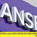 EL GOBIERNO TOMA 1.500 MILLONES DE DÓLARES DE LA ANSES