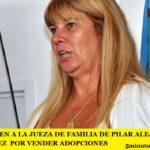 DESTITUYEN A LA JUEZA DE FAMILIA DE PILAR ALEJANDRA VELÁZQUEZ  POR VENDER ADOPCIONES