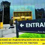 ODEBRECHT VENDIÓ SU PARTICIPACIÓN EN EL MEGAPROYECTO ARGENTINO DE SOTERRAMIENTO DE TRENES