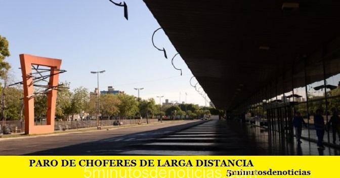 PARO DE CHOFERES DE LARGA DISTANCIA