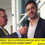 """GASTÓN YAÑEZ: """"ES LA JUSTICIA SOCIAL QUE VIENE DE LA MANO DEL INTENDENTE MARIO ISHII"""""""