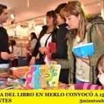 LA FERIA DEL LIBRO EN MERLO CONVOCÓ A 150 MIL ASISTENTES