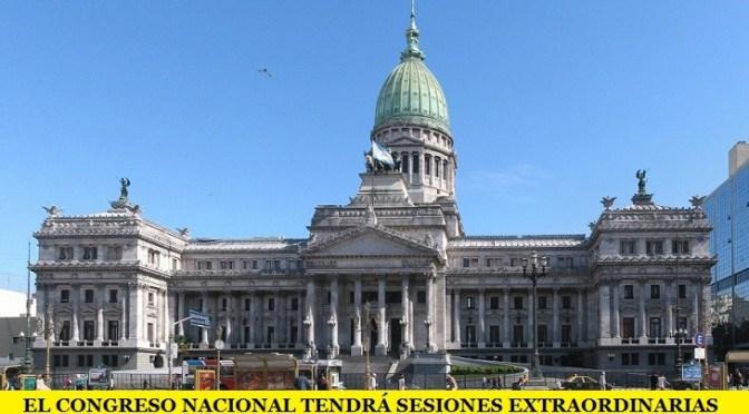 EL CONGRESO NACIONAL TENDRÁ SESIONES EXTRAORDINARIAS ENTRE NAVIDAD Y AÑO NUEVO