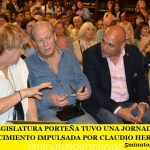 LA LEGISLATURA PORTEÑA TUVO UNA JORNADA DE RECONOCIMIENTO IMPULSADA POR CLAUDIO HEREDIA