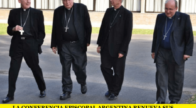 LA CONFERENCIA EPISCOPAL ARGENTINA RENUEVA SUS AUTORIDADES