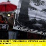LOS ORGANISMOS DE DDHH Y FAMILIARES DE SANTIAGO MALDONADO CONVOCARON ESTE MIÉRCOLES UNA MARCHA