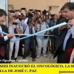 MARIO ISHII INAUGURÓ EL ONCOLÓGICO, LA SÉPTIMA MARAVILLA DE JOSÉ C. PAZ