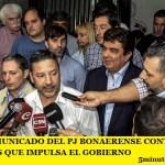 DURO COMUNICADO DEL PJ BONAERENSE CONTRA LAS REFORMAS QUE IMPULSA EL GOBIERNO